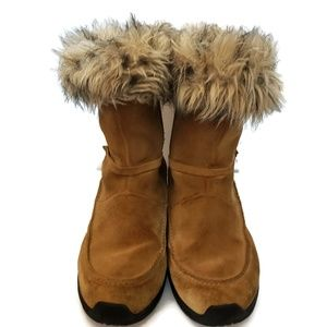 Sorel Northern Light Tall Faux Fur Boots Size 10